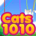 Tetris 10×10 Cats